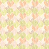 Seamless leaves pattern Stock Photos