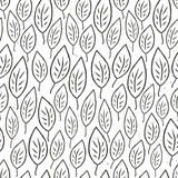 Seamless leaves pattern. Vector Royalty Free Stock Photos