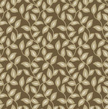Seamless leaves wallpaper Royalty Free Stock Photo