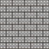 Seamless lego blocks Royalty Free Stock Images