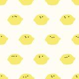 Seamless lemon pattern. Seamless pattern,lemon vector art  background design for fabric and decor Royalty Free Stock Photography