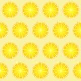 Seamless lemon pattern stock photos