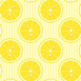 Seamless Lemon Wallpaper Royalty Free Stock Photos