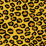 Seamless leopard background Royalty Free Stock Photos