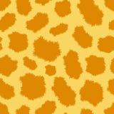 Seamless leopard fur pattern. Seamless vector leopard fur pattern vector illustration