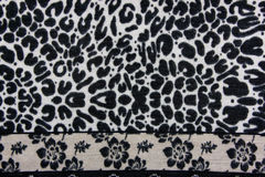 Seamless leopard skin pattern Royalty Free Stock Photos