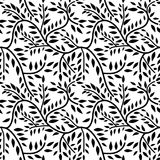 Seamless liana pattern Royalty Free Stock Images