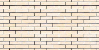 Seamless light beige new and clean brick wall. Seamless light new and clean brick wall Royalty Free Stock Images