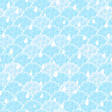 Seamless Light Blue Fluffy Cloud Stock Image