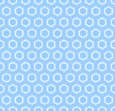 Seamless light blue pattern. Stock Photography