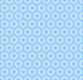 Seamless light blue pattern. Stock Photography