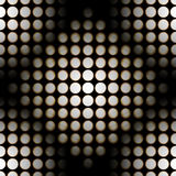 Seamless light diodes pattern. Repeatable pattern of light diodes, photographed at different exposure times, to show this light effect royalty free stock image
