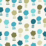 Seamless light floral background. For textiles, interior design, for book design, website background Royalty Free Stock Images