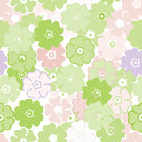 Seamless light flower pattern Stock Photos