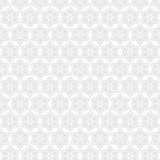 Seamless light gray floral pattern. Swatch is included in vector file. Transparent background Stock Image