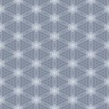 Seamless light grey and white lace symmetrical simple wallpaper. Pattern Stock Photo
