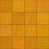 Seamless light oak square parquet panel texture Stock Images