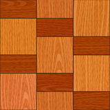 Seamless light oak square parquet panel texture Stock Photo