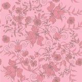 Seamless light rose Stock Photo