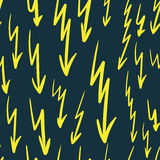 Seamless lightnings Royalty Free Stock Photography