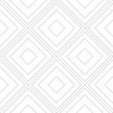 Seamless Line Art Vector Pattern Design. Diagonal Boxes Line Art Concept Royalty Free Stock Image
