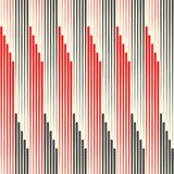 Seamless Line Background. Black and Red Striped Texture Royalty Free Stock Images
