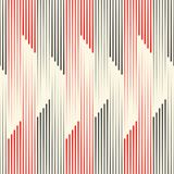 Seamless Line Background. Black and Red Striped Texture. Abstract Skyscraper Concept Wallpaper Royalty Free Stock Image