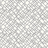 Seamless line pattern Royalty Free Stock Photography