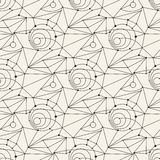 Seamless line pattern tile background geometric Stock Photos