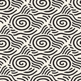 Seamless line pattern tile background geometric Royalty Free Stock Photography