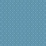 Seamless Linear Flourish Pattern for Retro Design. Stock Photography