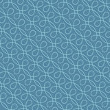 Seamless Linear Flourish Pattern for Retro Design. Royalty Free Stock Images