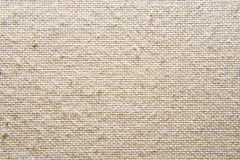 Seamless linen canvas. High resolution seamless linen canvas background Stock Photography