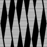 Seamless Lines Background. Vector Seamless Monochrome Lines Background Stock Photography