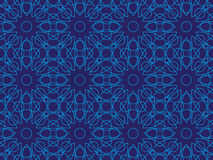 Seamless lines pattern. Blue abstract seamless lines pattern Stock Photo