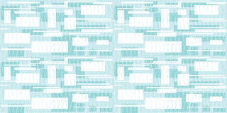 Seamless lines and rectangles grey. Vector seamless background of wavy vertical lines and rectangles modern static composition in blue color Royalty Free Stock Image