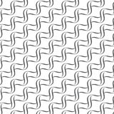 Seamless lines with wavy  pattern Stock Photos