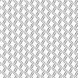Seamless lines with wavy vector pattern Stock Photography