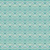 Seamless linjära mönstrar, tappningtyg Royaltyfria Bilder