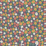 Seamless with little flowers Stock Images