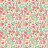Seamless Little Flowers. Seamless Little multicolored Flowers pattern Royalty Free Stock Photography
