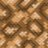 Seamless lizard skin pattern Royalty Free Stock Photos