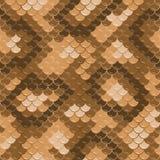 Seamless lizard skin pattern. Gold lizard skin. Seamless squama texture pattern Royalty Free Stock Photos
