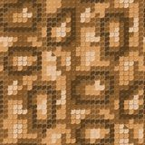 Seamless lizard skin pattern. Gold lizard skin. Seamless squama texture pattern Stock Image