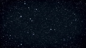 Seamless loop of twinkling stars. HD Resolution stock footage
