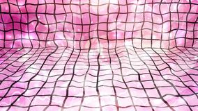 Warped Pink Tiles with Bright Falling Particles - 4K Seamless Loop Motion Background Animation. This seamless looping motion background video can be extended to stock video footage