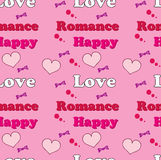 Seamless love background wallpaper stock photography