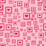 Seamless Love Heart Background Royalty Free Stock Images