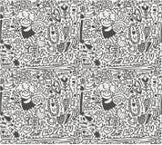 Seamless love pattern Stock Photo