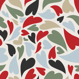 Seamless love pattern Royalty Free Stock Image